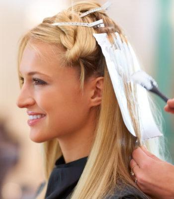 Окрашивание волос в Минске
