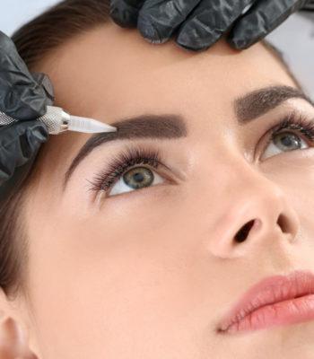 Перманентный макияж бровей в Минске