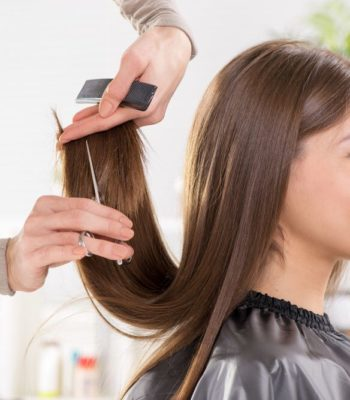 Стрижка женская на длинный волос в Минске